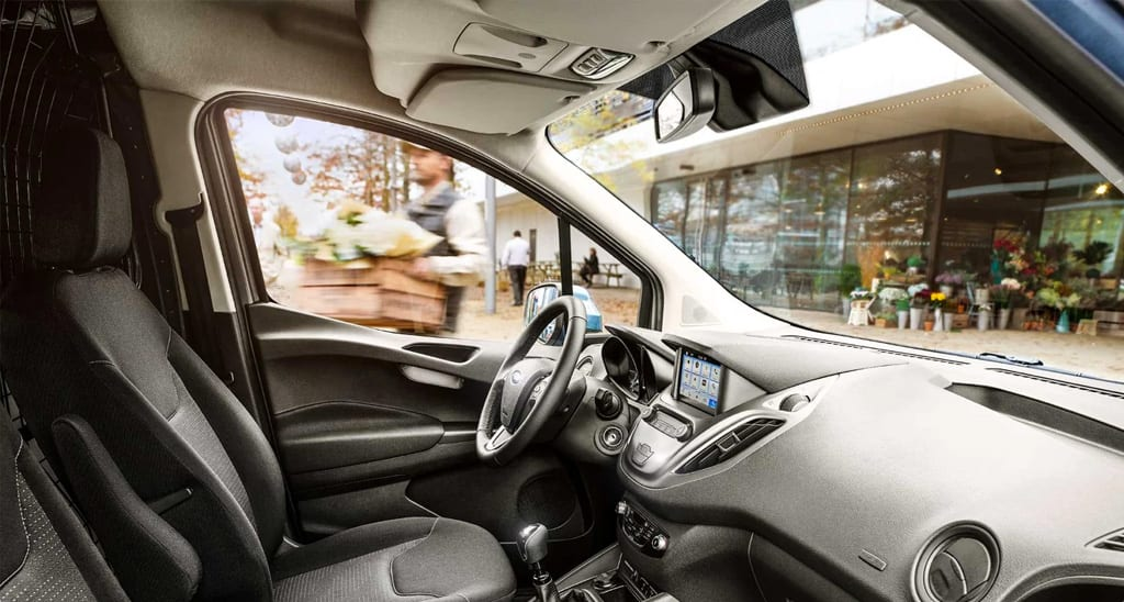 ford transit courier interior