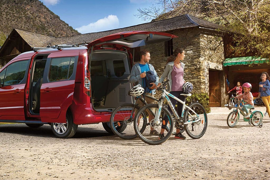 ford tourneo connect diseño