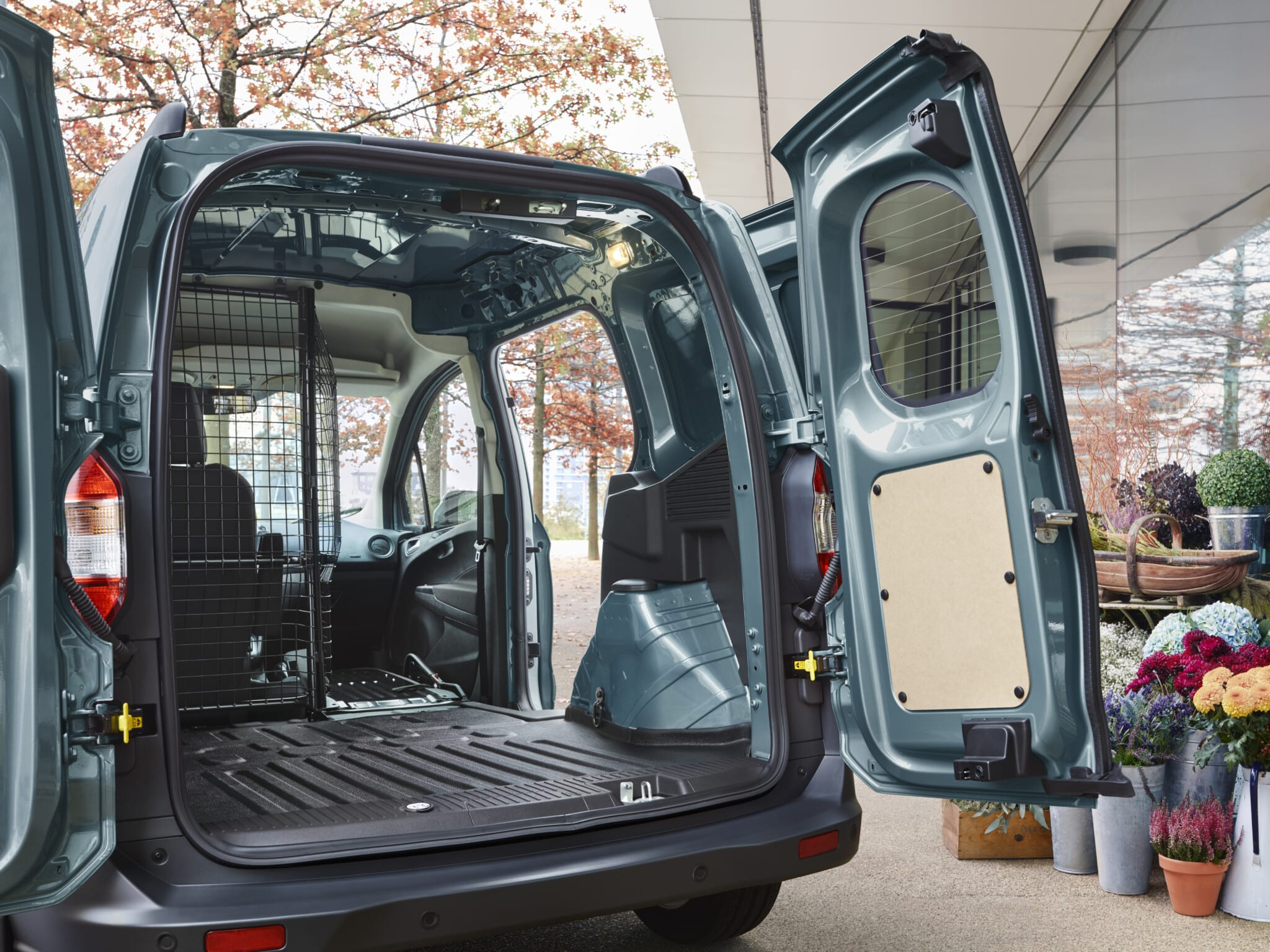 Ford Transit Courier puertas
