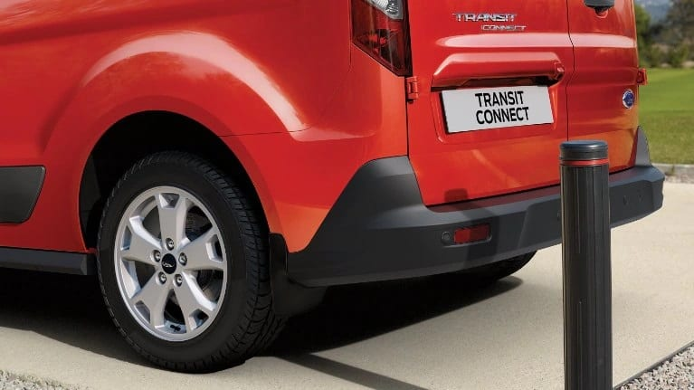 ford Transit Connect trasero