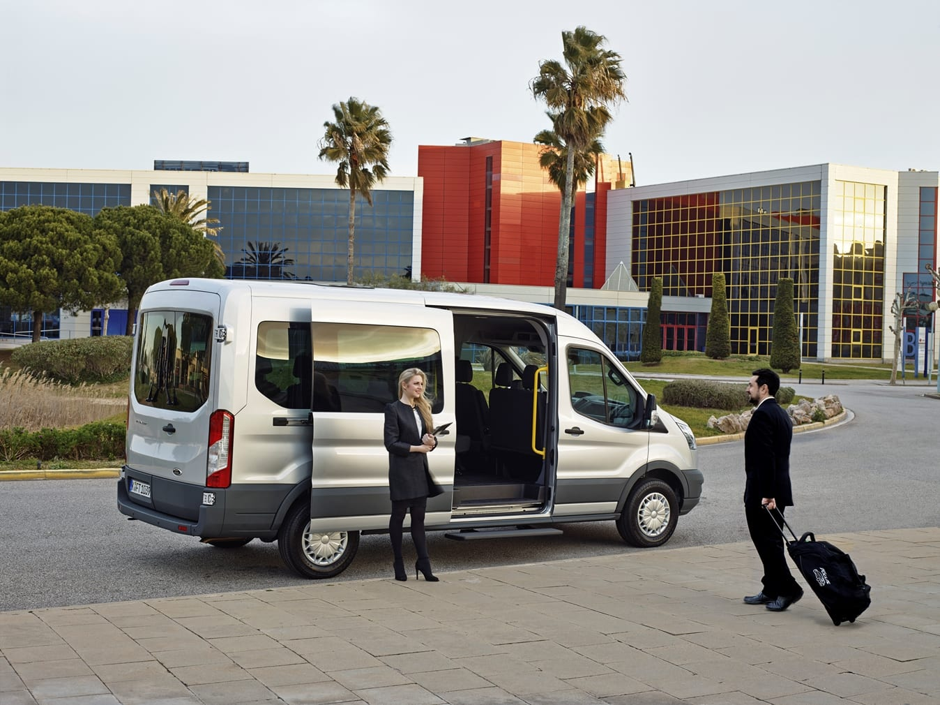 Ford Transit puerta lateral