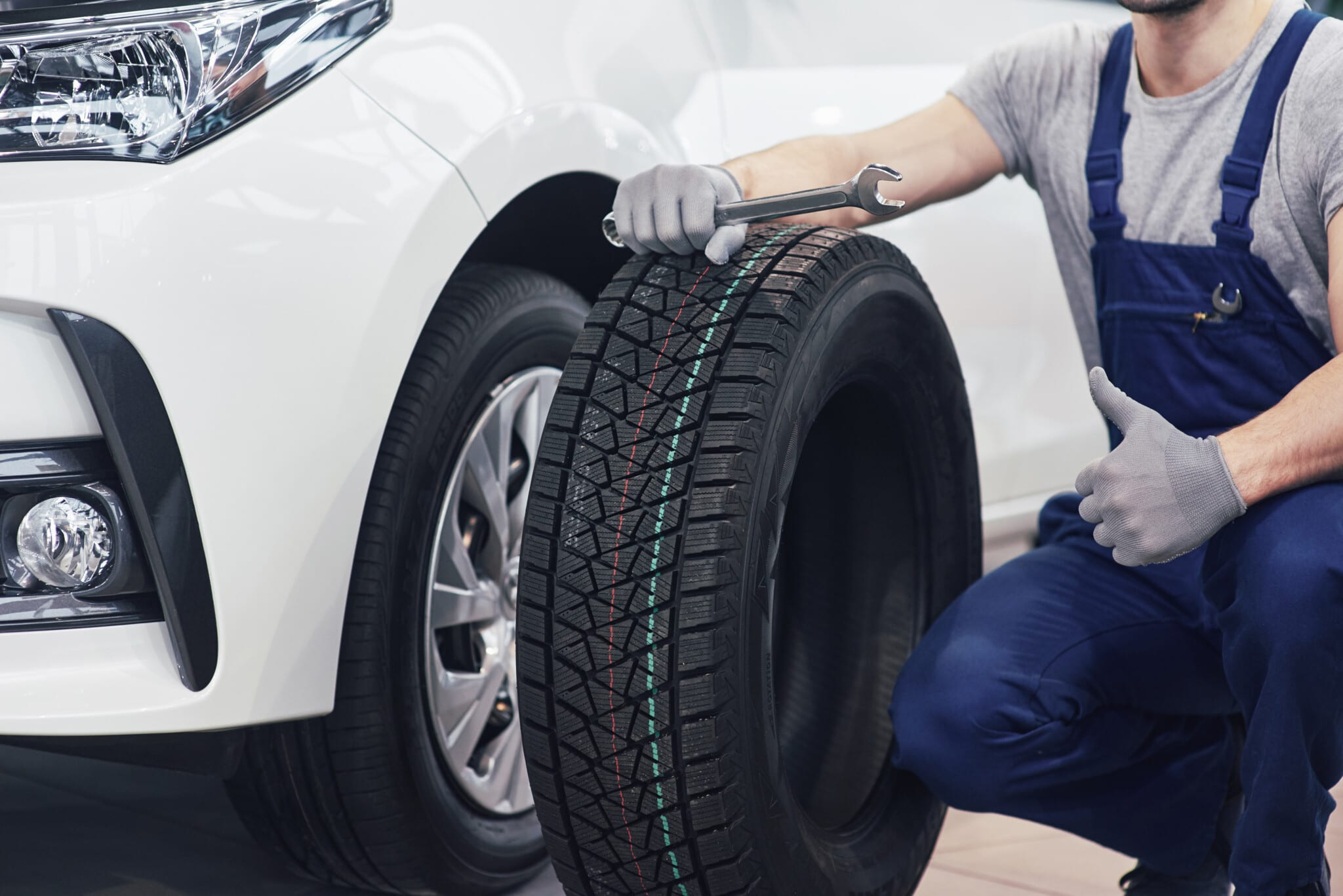 Cambio neumáticos de invierno
